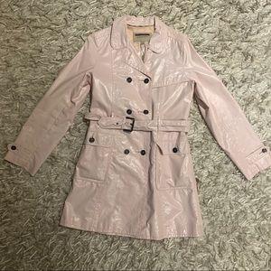 Burberry Pink Raincoat